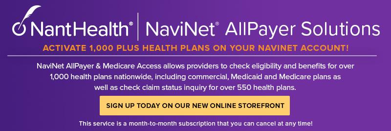 NaviNet AllPayer Storefront